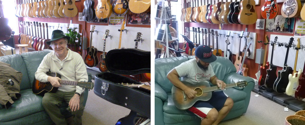 Acoustic guitars available at Atlanta Vintage Guitars