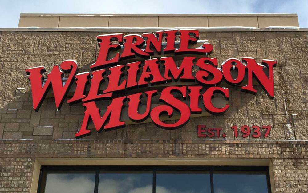 Ernie Williamson Music storefront
