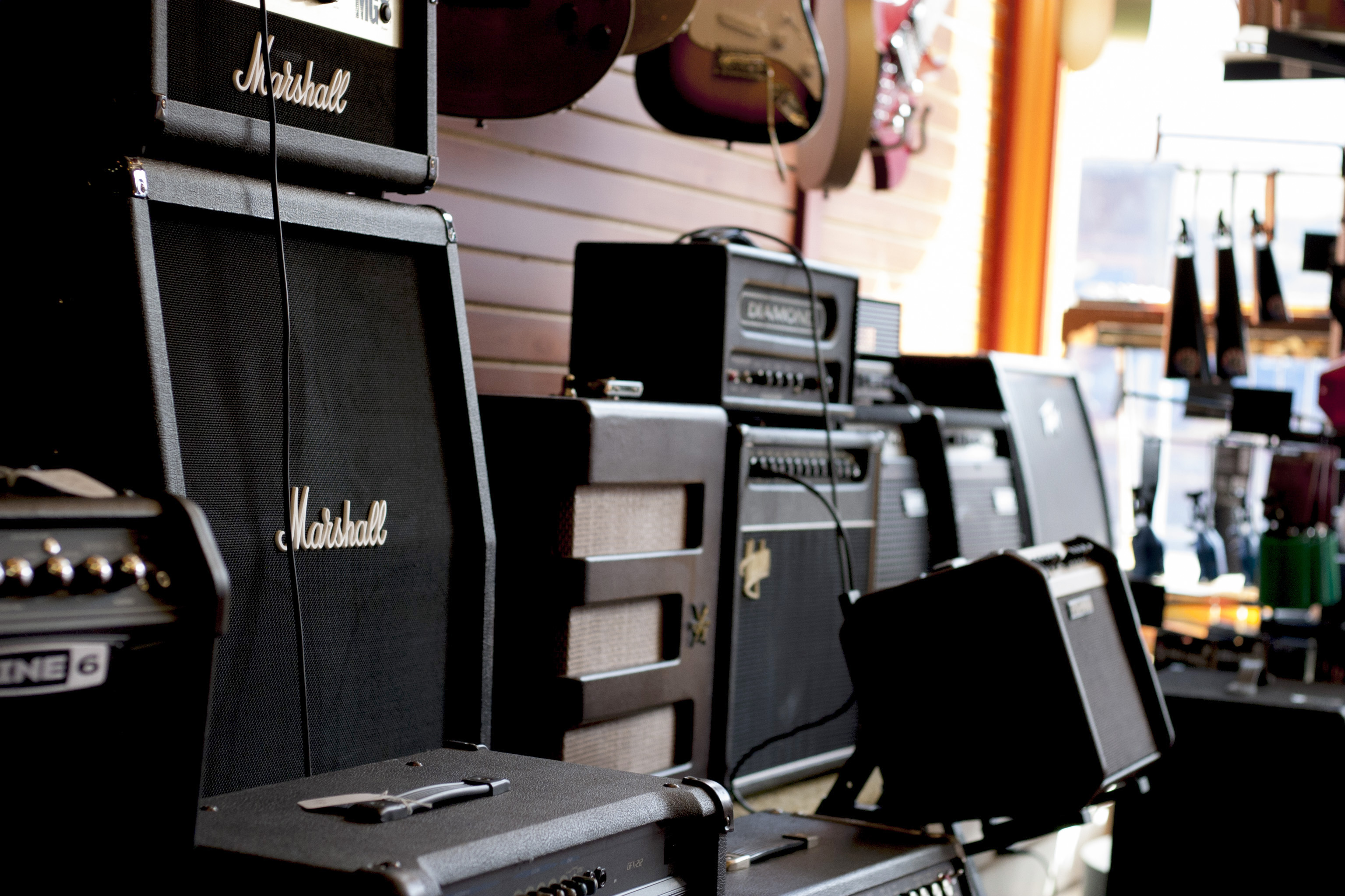 Guitar amps at HD Custom Guitar Supply