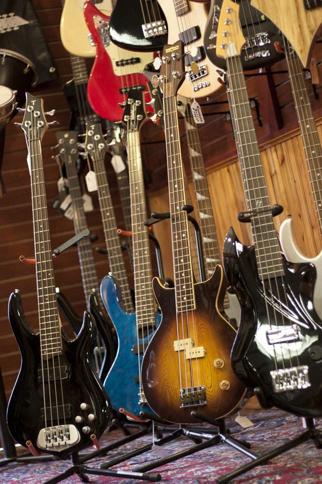 Electric guitars at HD Custom Guitar Supply