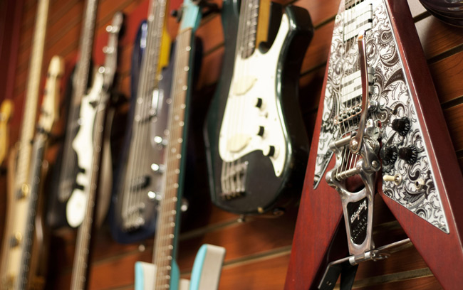 Gibson electric guitars at HD Custom Guitar Supply