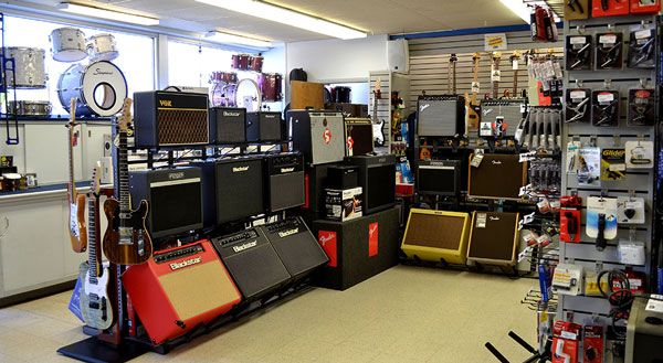 King Music Ltd has amplifiers and guitar accessories