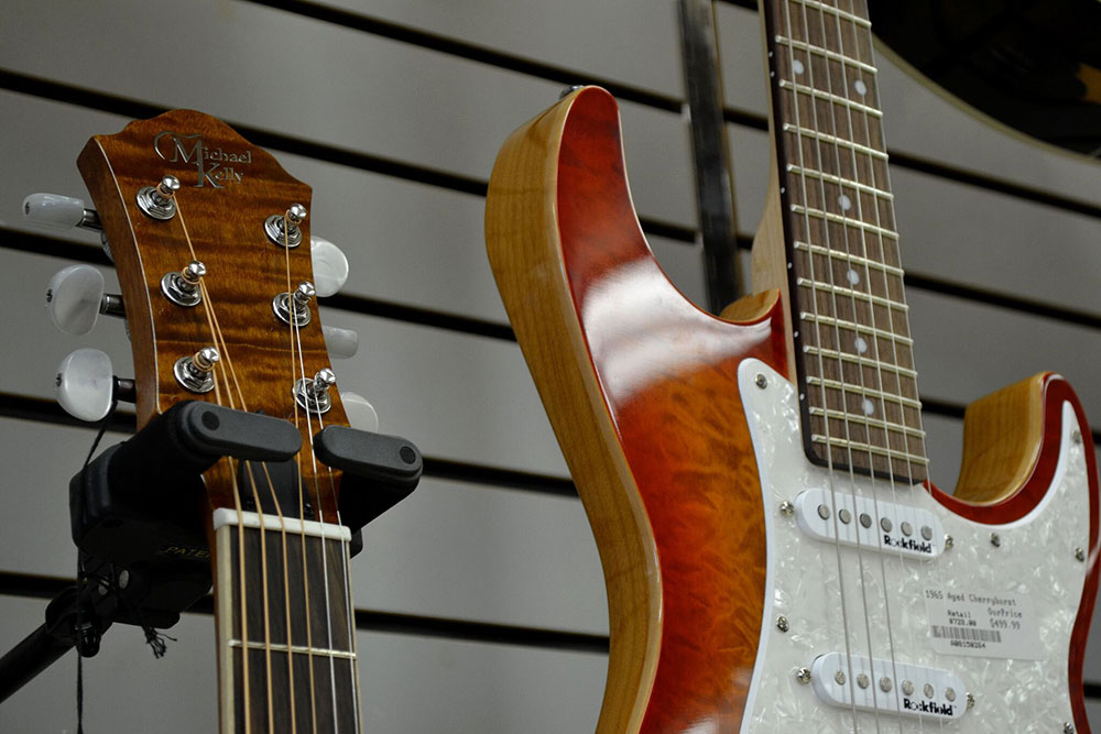 Michael Kelly electric guitars at King Music Ltd