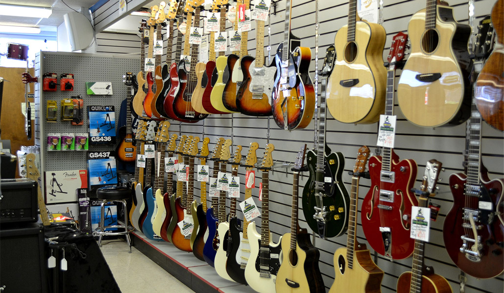 King Music Inc's electric guitar stock