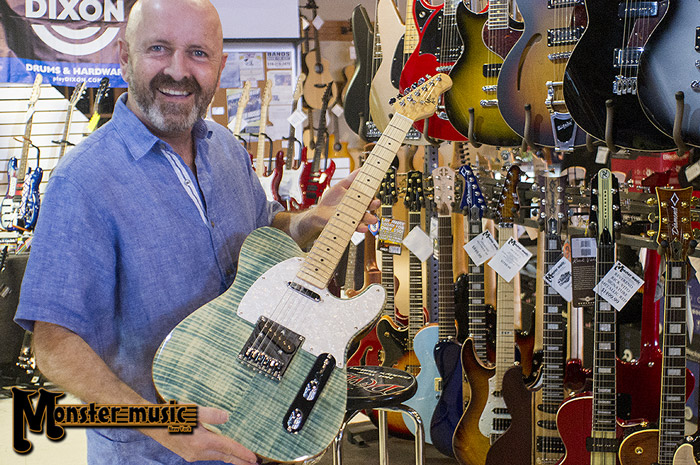 Michael Kelly 1950s electric guitars at Monster Music