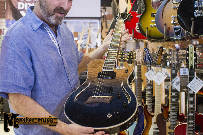 Michael Kelly Patriot Hybrid acoustic-electric guitar at Monster Music