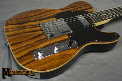 Michael Kelly 1950s ebony electric guitar