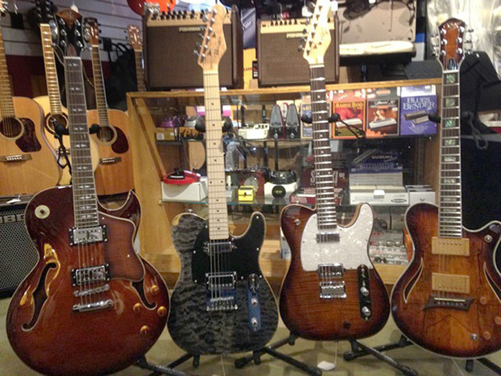 Michael Kelly 1950s electric guitars and hybrid guitars at Warren's Music