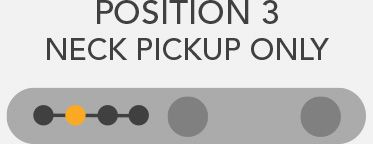 neck pickup only