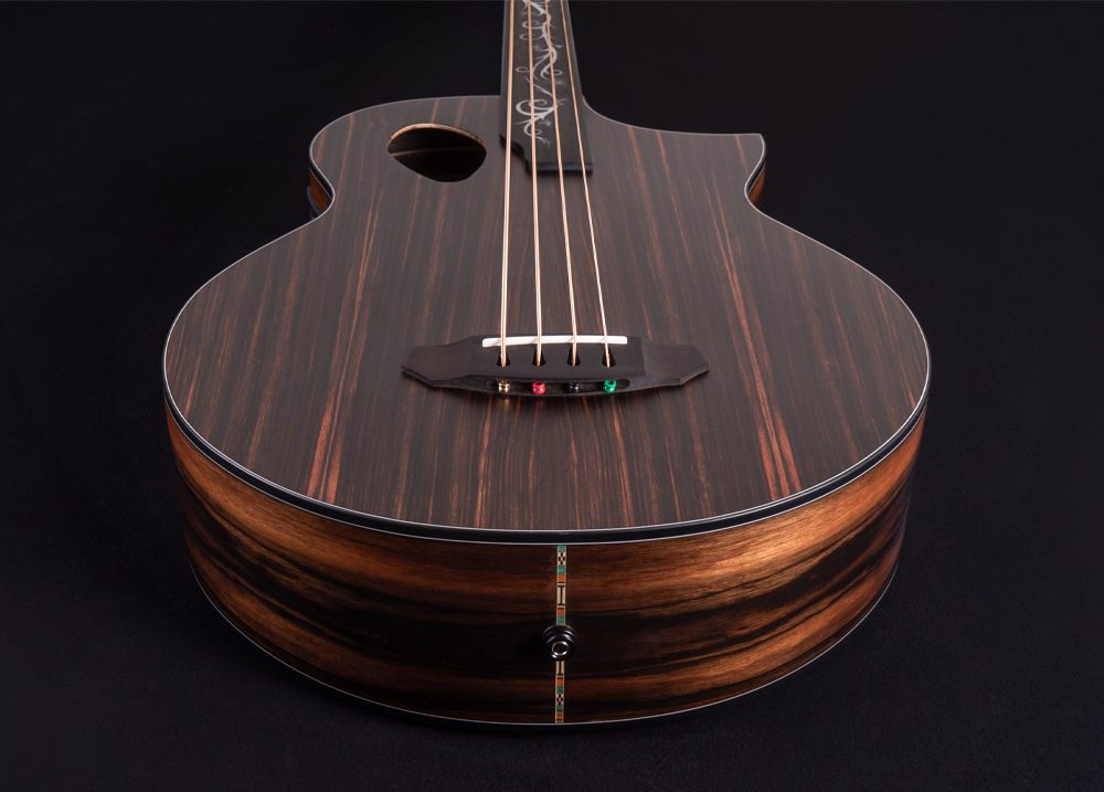 Dragonfly 4 Port Java Ebony Fretless