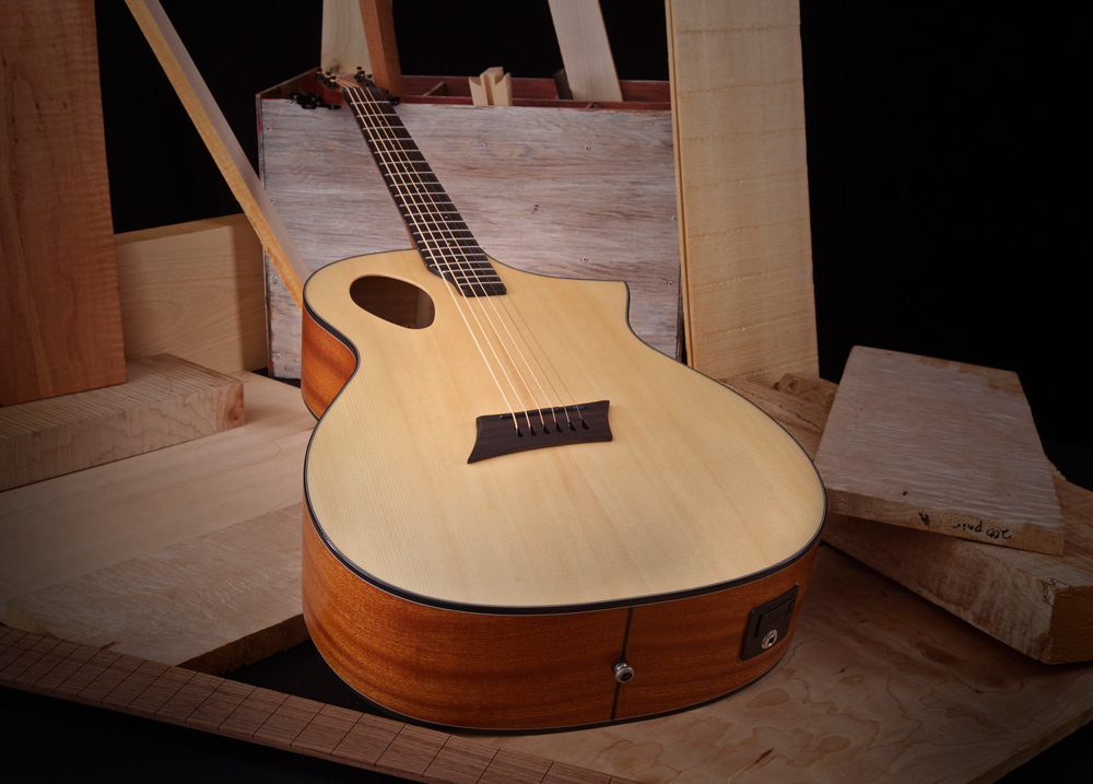 Forte Port Acoustic Guitar Michael Kelly Guitar Co