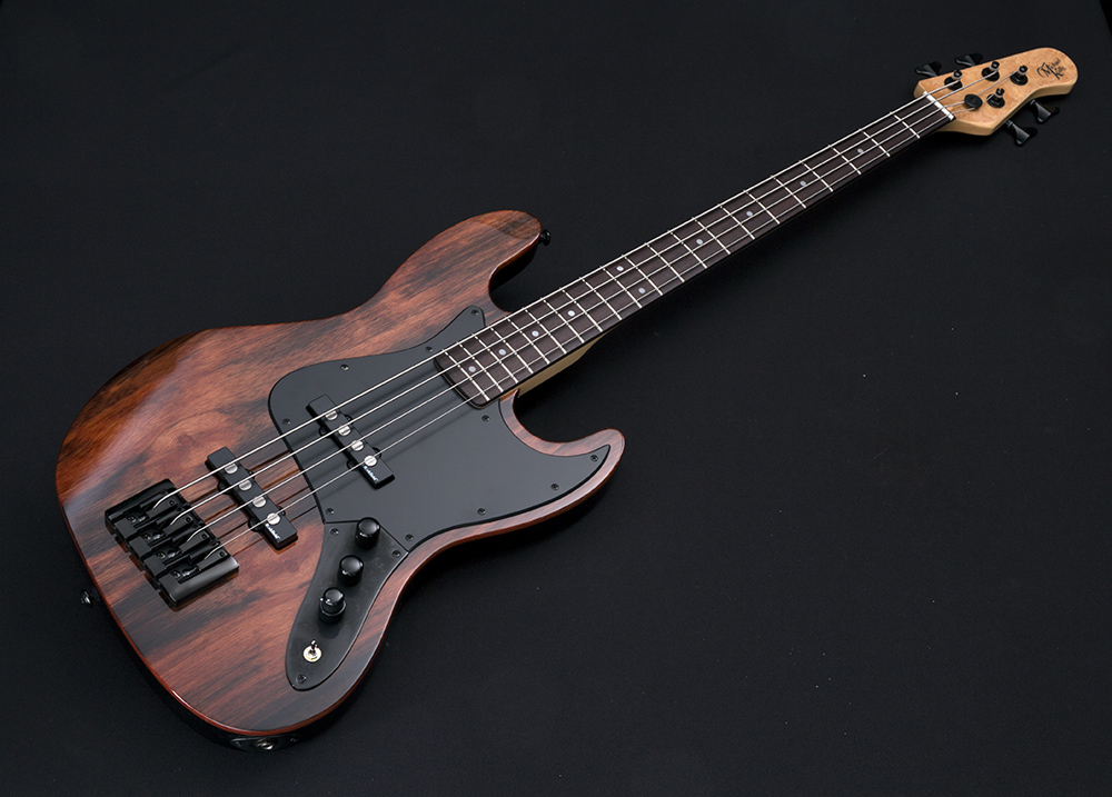 element 4 custom collection electric bass guitar by michael kelly michael kelly guitar co. Black Bedroom Furniture Sets. Home Design Ideas