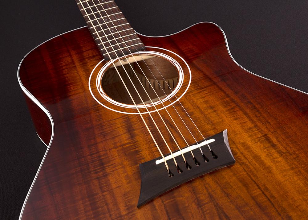 Koa Special Michael Kelly Guitar Co