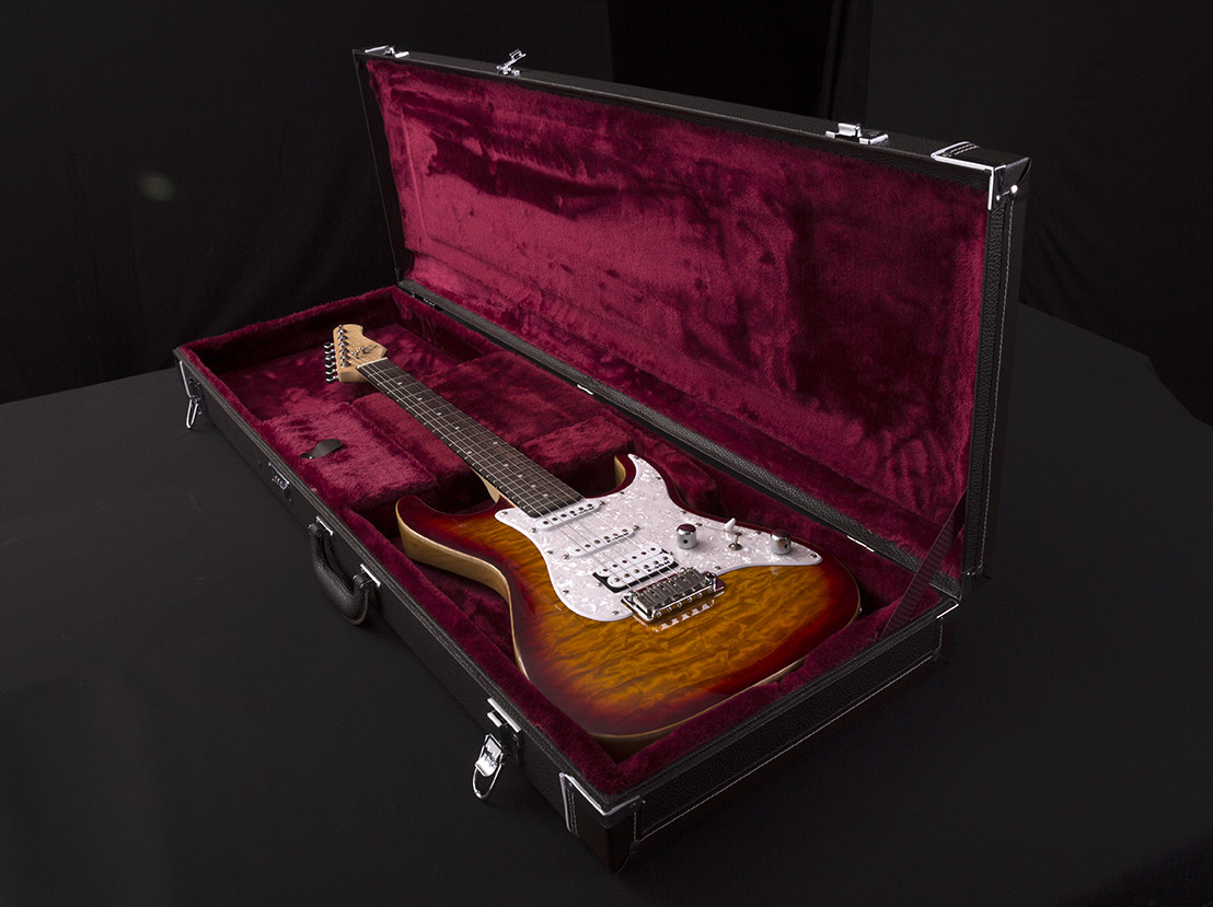 1960s Electric Guitar Hard Case