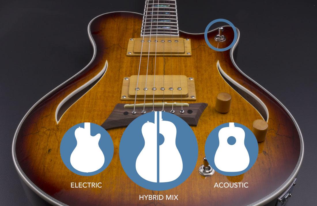 hybrid special michael kelly guitar co. Black Bedroom Furniture Sets. Home Design Ideas