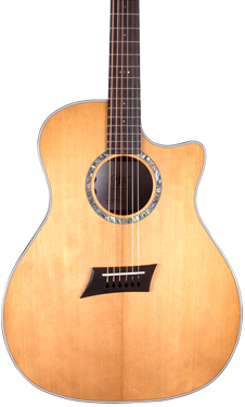 torrefied acoustic guitar