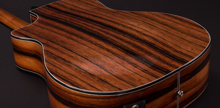 torrefaction 3D arched back acoustic guitar